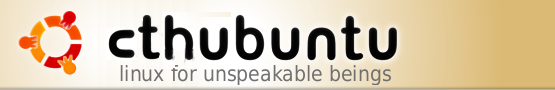 Cthubuntu - Linux for Unspeakable Beings